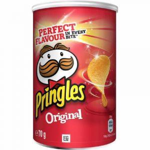 Patatas fritas original pringles lata 70g