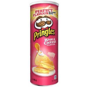 Patatas fritas york y queso pringles lata 165g