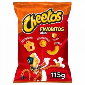 Aperitivos favoritos cheetos 115gr