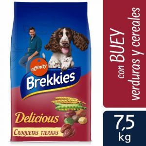 Comida perro delicicious buey brekkies 7,5k