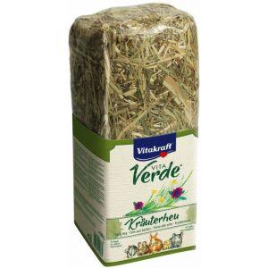 Heno con aroma de hierba para roedores vitakraft 500g