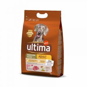 Comida perro medium buey ultima 3kg