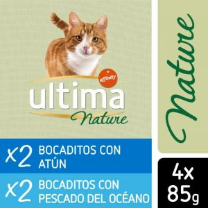 Comida gato nature atun ultima 4x85gr