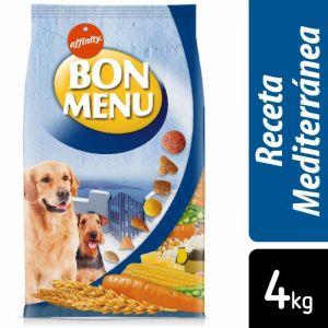 Comida perro receta mediterranea  bon menu 400g