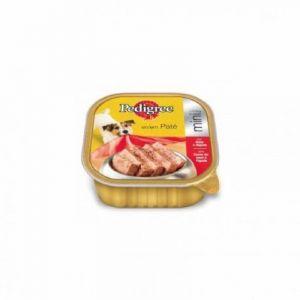 Comida perro buey pedigree tarrina 300g