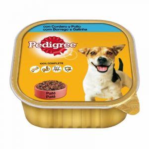 Comida perro  cordero pedigree tarrina 300g
