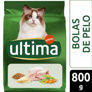 Comida gato control bola de pelo ultima 800g