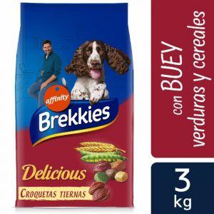 Comida perro delicicious buey brekkies 3k