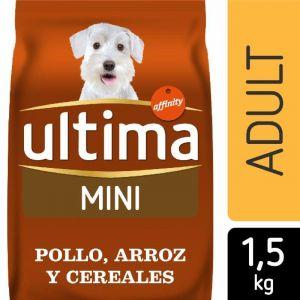 Comida perro mini pollo ultima 1,5k
