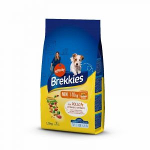 Comida perro mini  brekkies 1,5k