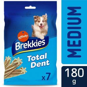 Snack de perro total dent medium brekkies 180g
