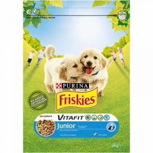 Comida perro junior pollo friskies 3k