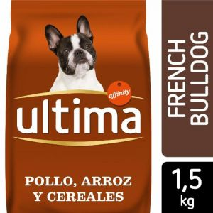 Comida perro bulldog frances ultima 1,5k