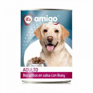 Comida perro  buey ifa amigo 1,23k
