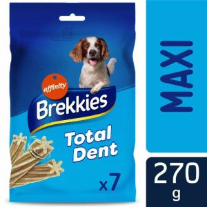 Snack perro total dent maxi  brekkies 270g