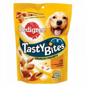 Snack perro tasty bites  pedigree 140g