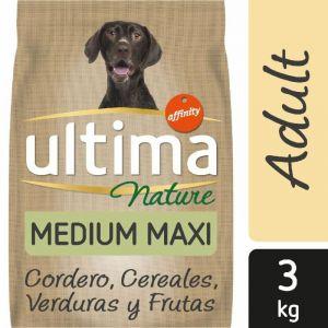 Comida perro nature medium ultima 3k