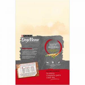 Comida perro buey dog menu 3k