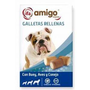 Snack perro galletas rellenas ifa amigo 500gr