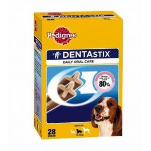 Snack perro medianos dentastix pedigree 28u
