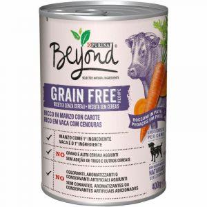 Comida perro grain free buey beyond 400gr