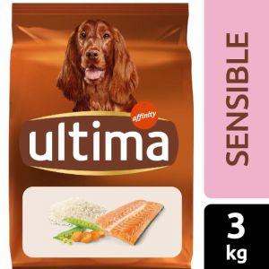 Comida perro sensitive salmon ultima 3kg