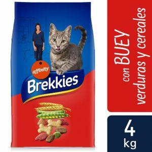 Comida gato buey brekkies  4k