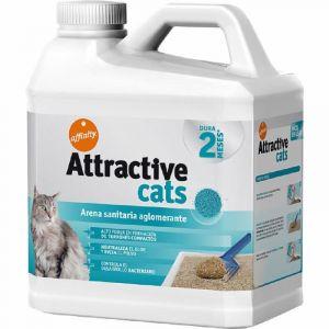Arena para gatos bentonita attractive cats 6,38k