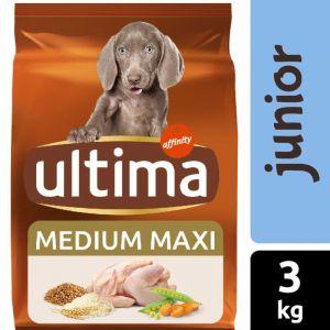 Comida perro junior  ultima 3k