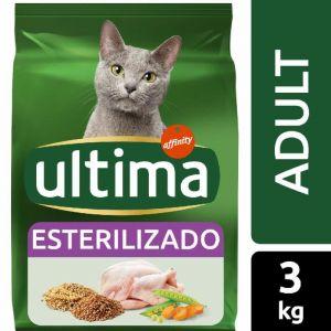 Comida gato esterilizados pollo ultima 3k