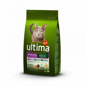 Comida gato esterilizados salmon ultima 1,5k