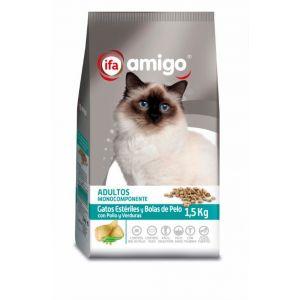 Comida gato esteriles ifa amigo 1,5k