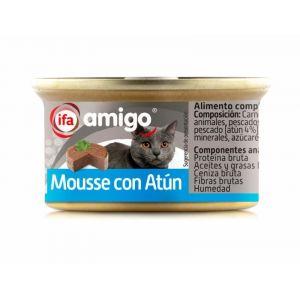 Comida gato mousse atun ifa amigo 85g