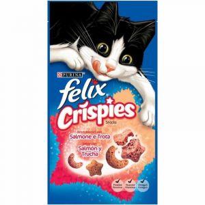 Snack gato crispies  felix 45g
