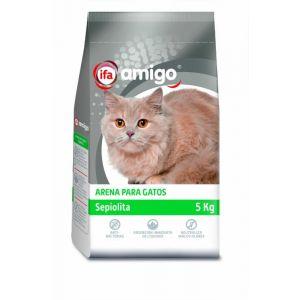 Arena para gatos sepiolita ifa amigo 5k