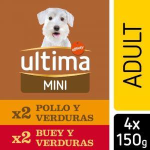 Comida perro adulto ultima p4x150gr