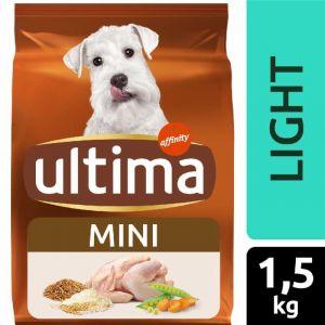 Comida perro mini light  ultima 1,5k