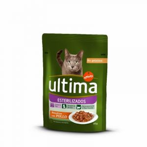 Comida gato esterilizado ultima 85g