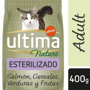 Comida gato nature estirilizado salmon affinity p4x85g