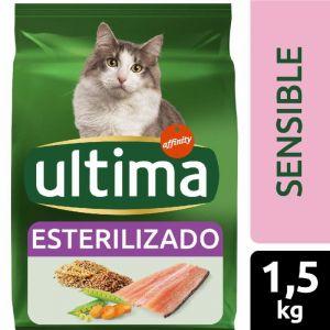 Comida gato estirilizado sensible ultima 1,5k
