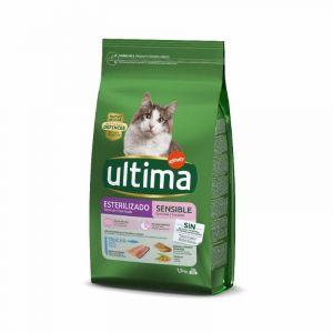 Comida gato estirilizado sensible ultima 1,5kg