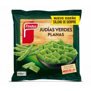 Judias planas verdes findus 400g