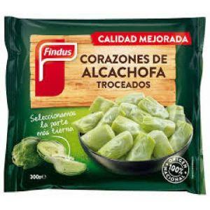 Corazones de alcachofa troceada findus 300g