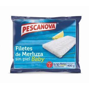 Filetes baby merluza pescanova 400g