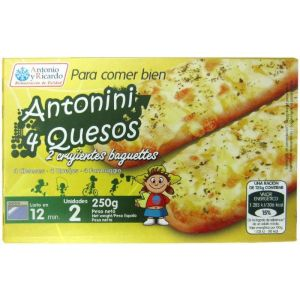 Antonini 4 quesos antonioyricardo 250gr
