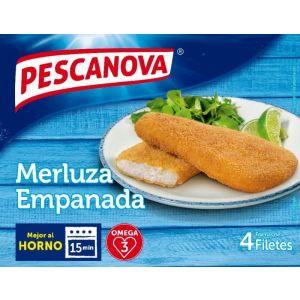 Filetes empanado merluza pescanova 340g