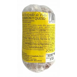 Redondo pollo mini jamon y queso la sirena 200gr