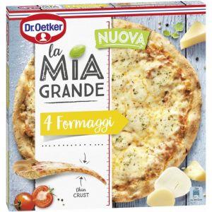 Pizza 4 formaggi la mia grande 400gr
