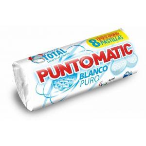 Detergente pastillas blanco puntomatic 4 dosis 8 pastillas