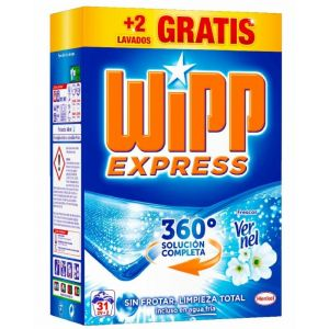 Detergente polvo p.e. wipp 29+2 dosis 2,015 kilos